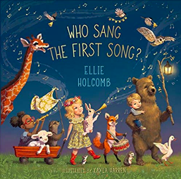 Ellie Holcomb - Who Sang the First Song book cover