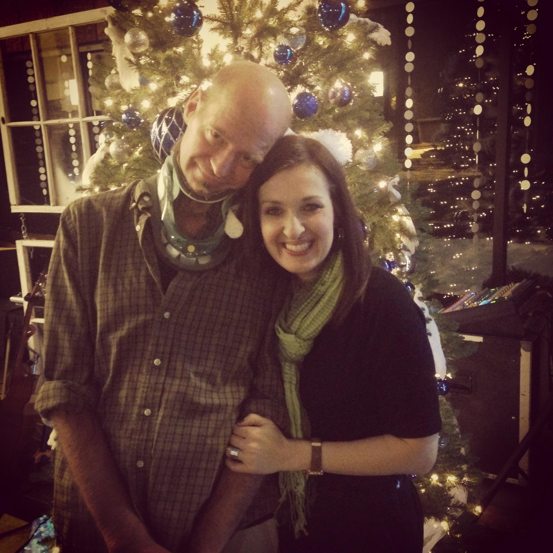 Bo Stern and her husband