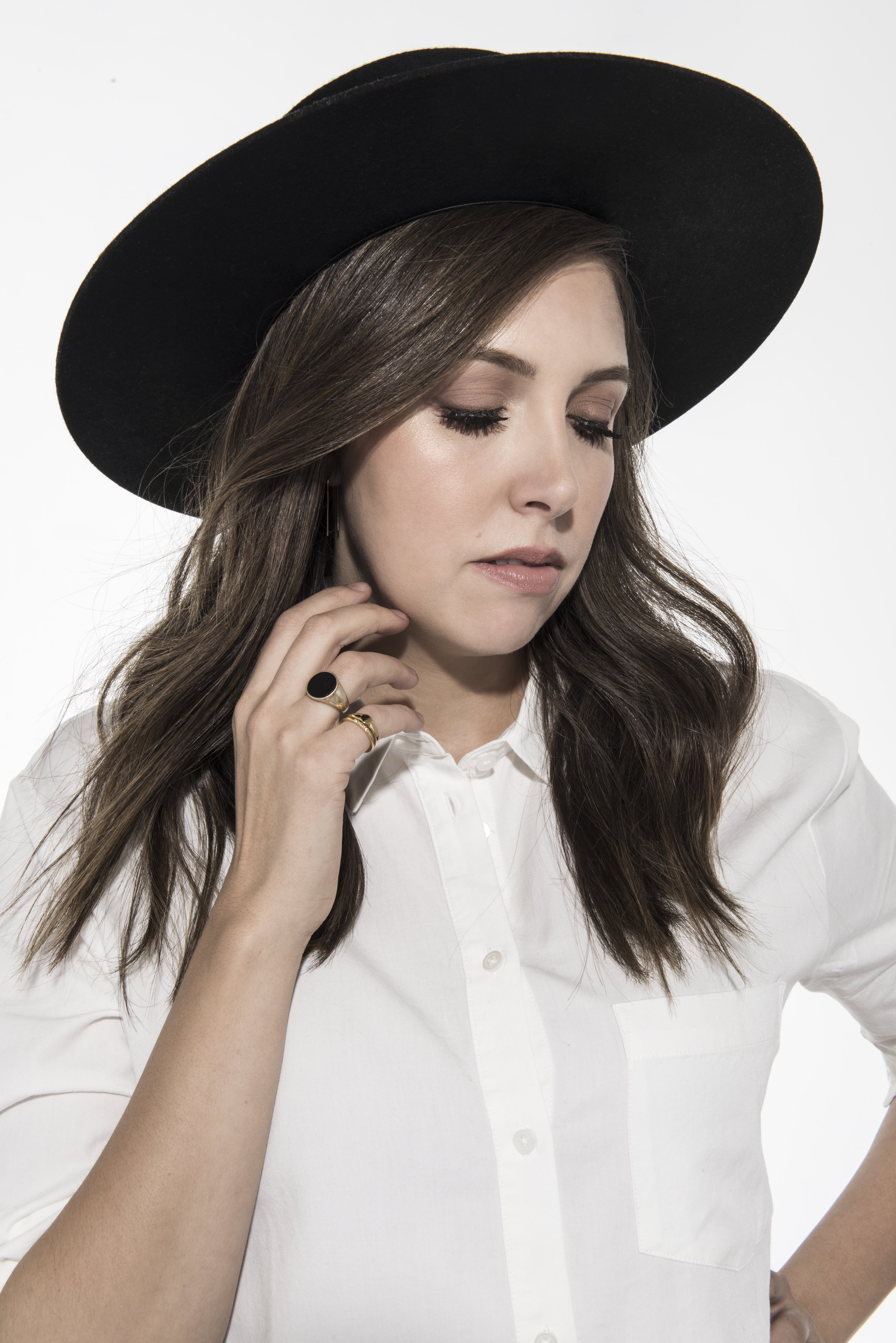 Francesca Battistelli as featured on Jesus Calling podcast