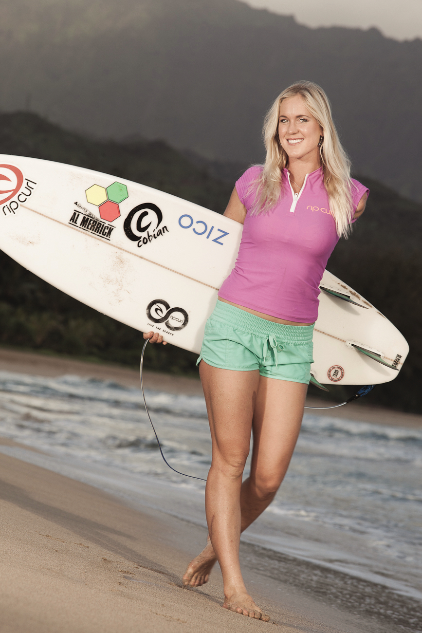 Bethany Hamilton as featured on the Jesus Calling podcast