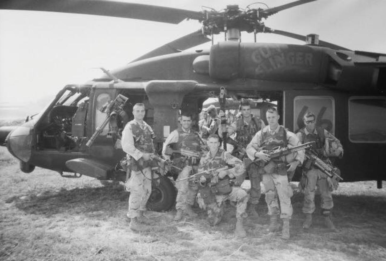 Keni Thomas; army ranger - Black Hawk Down