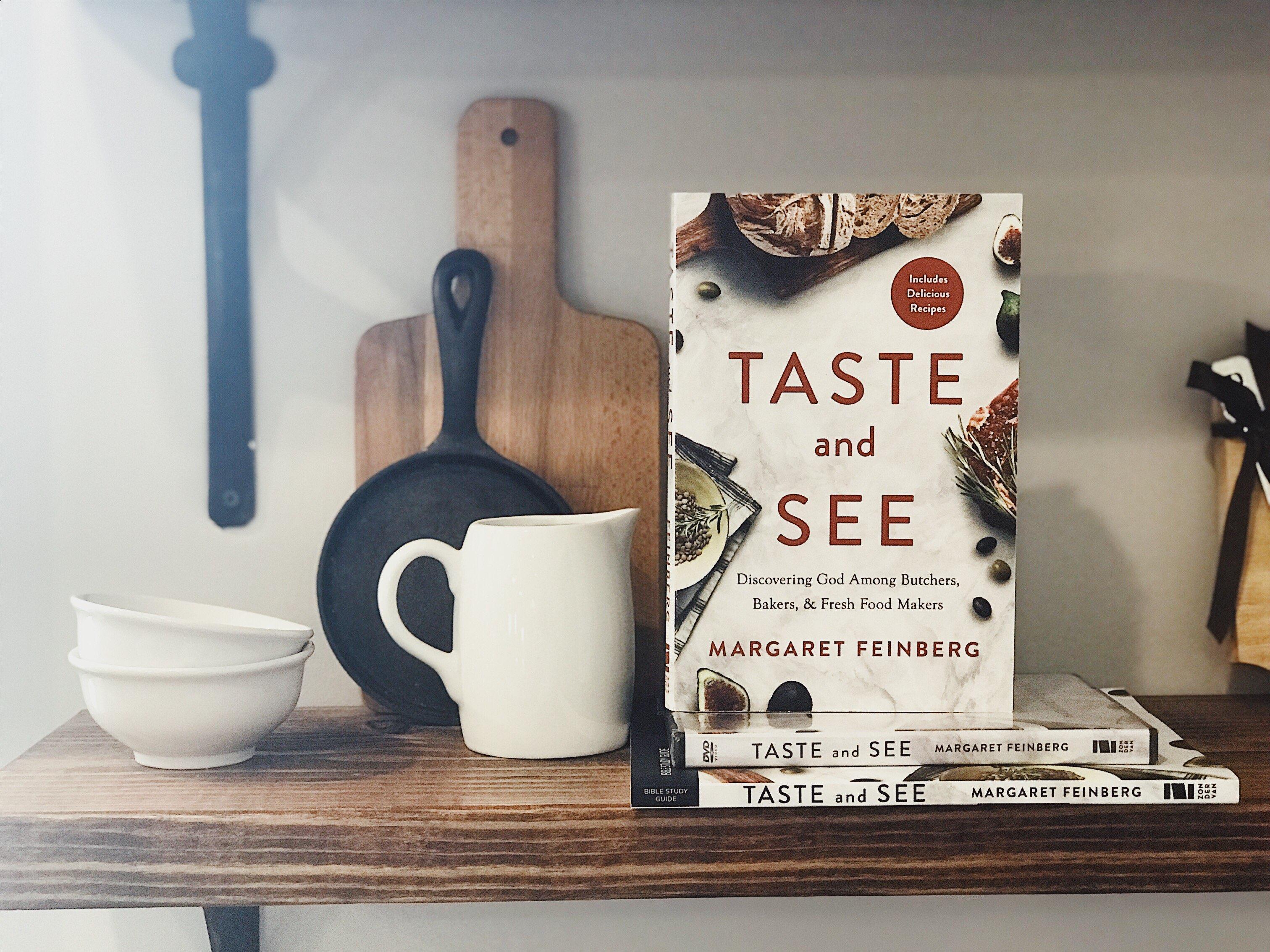 Margaret Feinberg new book, TASTE AND SEE