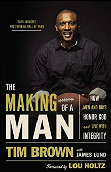 Tim Brown's book, The Making of a Man