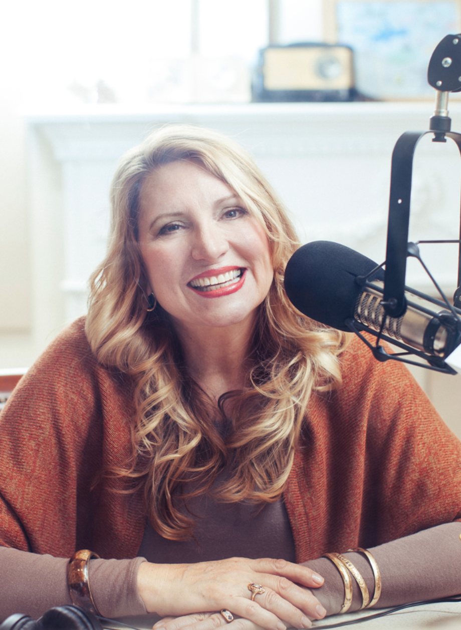 Radio host, Delilah as featured on the Jesus Calling podcast