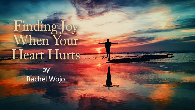 Finding Joy blog by Rachel Wojo