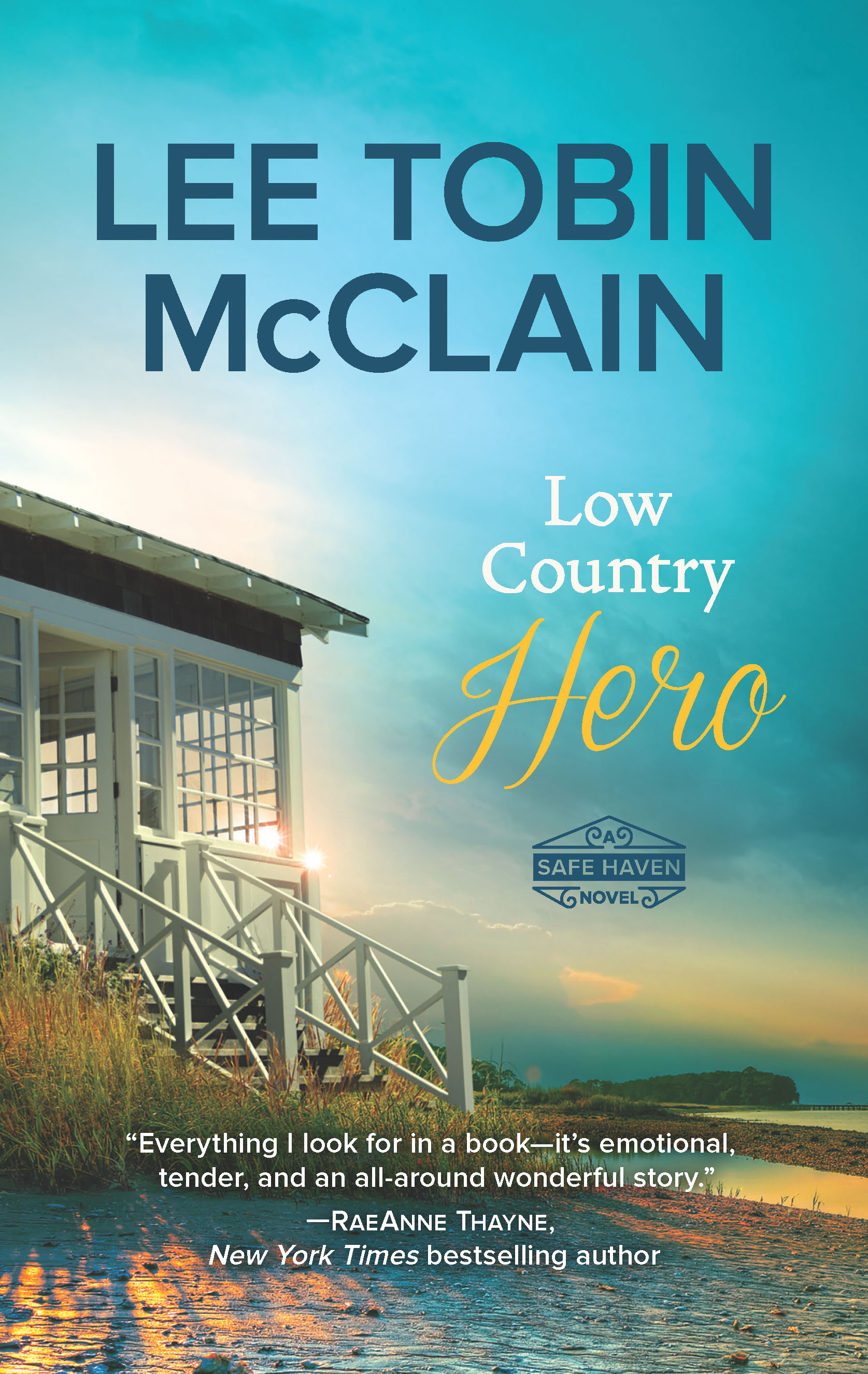 Love Inspired author - Lee Tobin McClain - Love Country Hero book cover