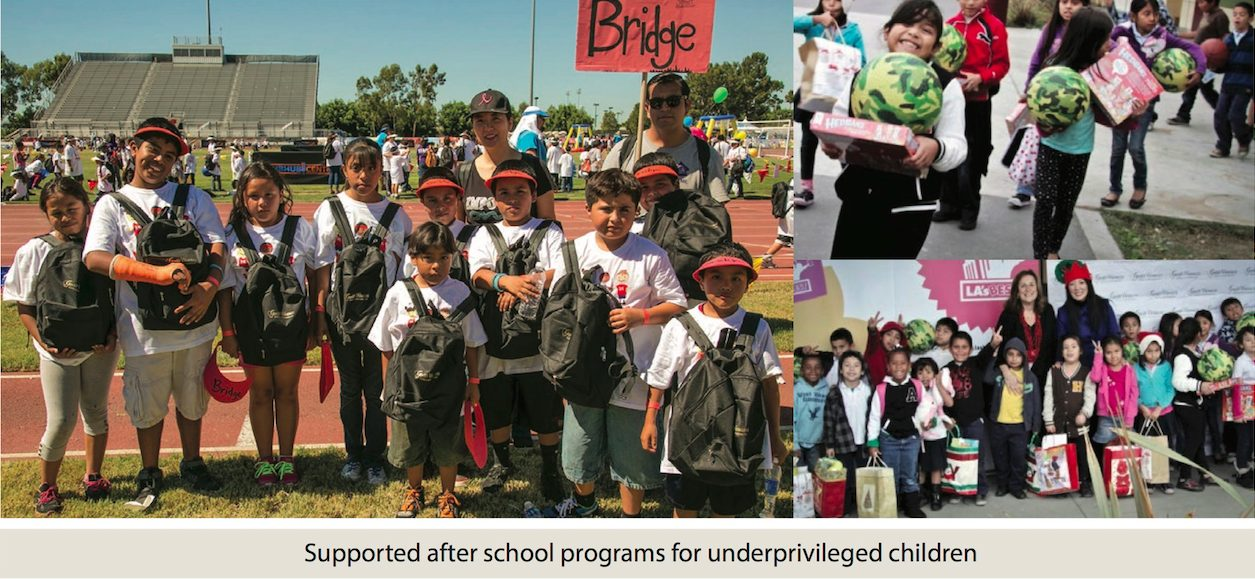 Helena Cho - Good Works Make a Difference Supporting After School Programs