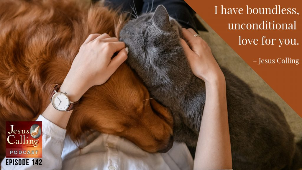 Jesus Calling podcast episode #142 featuring Animal Rescue Advocate Lavonne Redferrin & Country Artist Irlene Mandrell