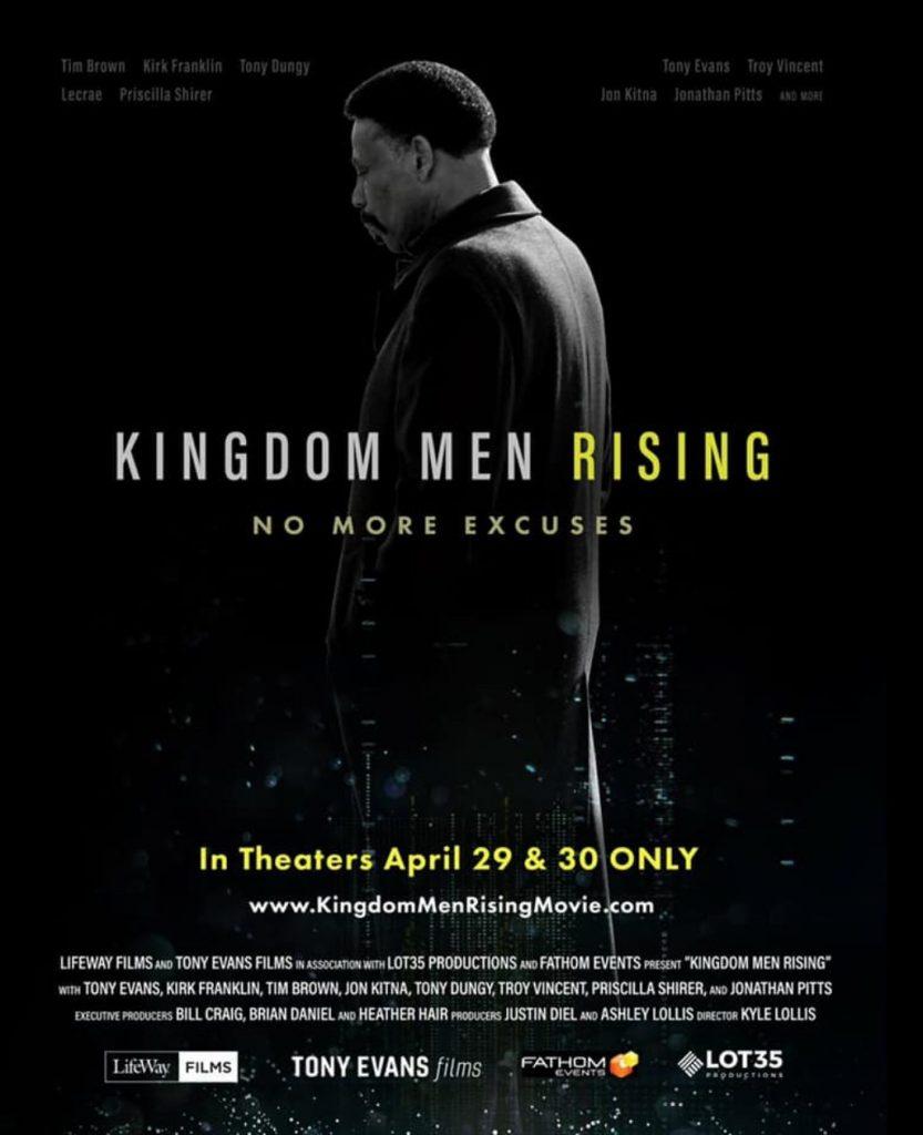 Dr. Tony Evans - fathom event, Kingdom Men Rising