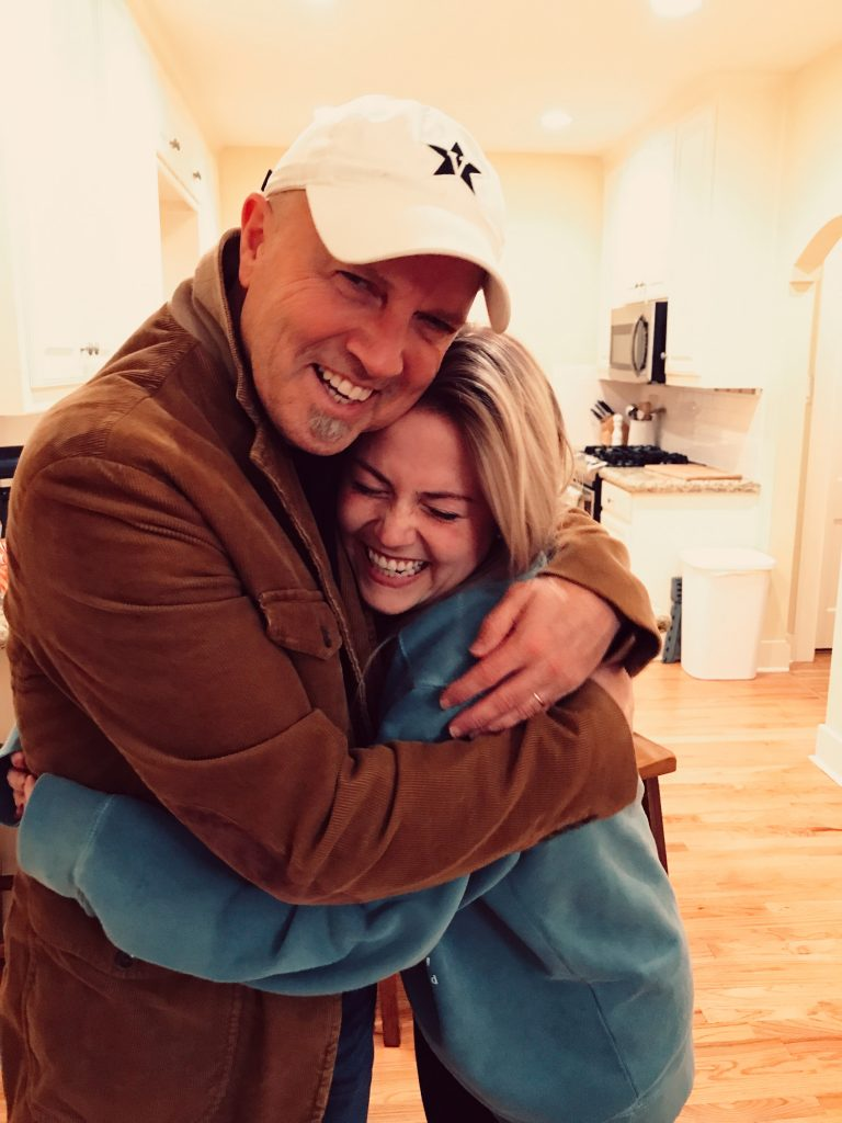 Jesus Calling podcast featuring Mark Miller and his daughter, Madison Brown