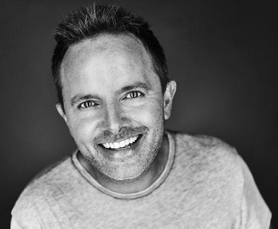 Grammy award winning Christian-music artist, Chris Tomlin as featured on the Jesus Calling podcast