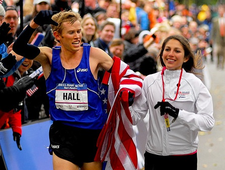 Former Olympic Runner, Ryan Hall helping others through running