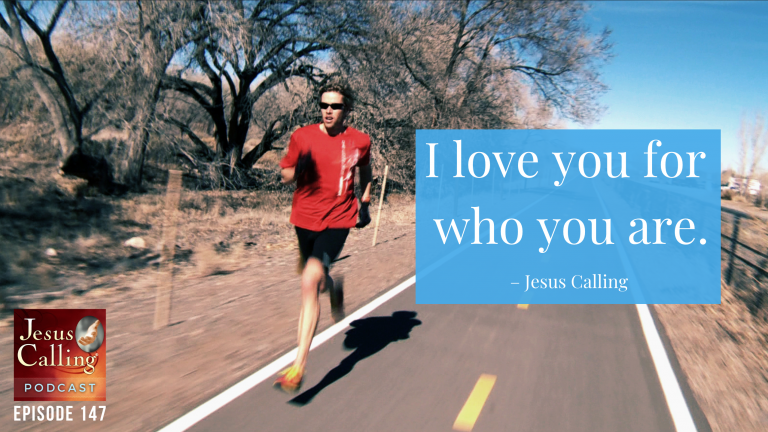 Former Olympic Runner and American record for half marathon, Ryan Hall as featured on the Jesus Calling podcast