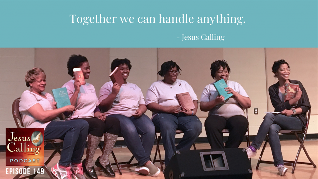 Jesus Calling podcast #149 featuring the Brookland Baptist Church Women's Day event
