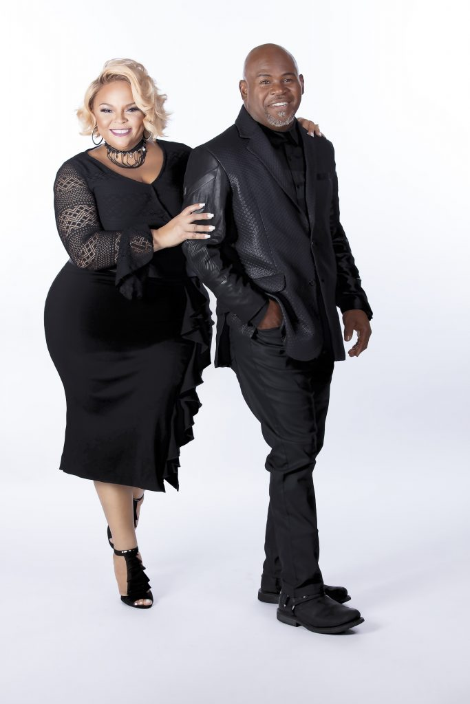 Actors and singers David and Tamela Mann are full of talent, wit, and love for each other.  The husband/wife duo recently joined the Jesus Calling podcast to talk about their relationship & career.
