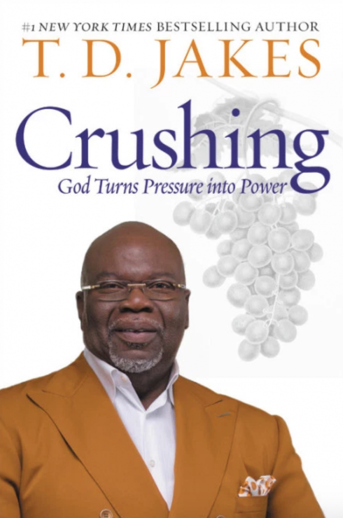 Jesus Calling podcast recently featured T. D. Jakes as he shared infomration about his latest book, Crushing: God Turns Pressure into Power