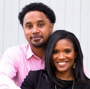 Wynter & Jonathan Pitts as highlighted on a recent Jesus Calling podcast episode