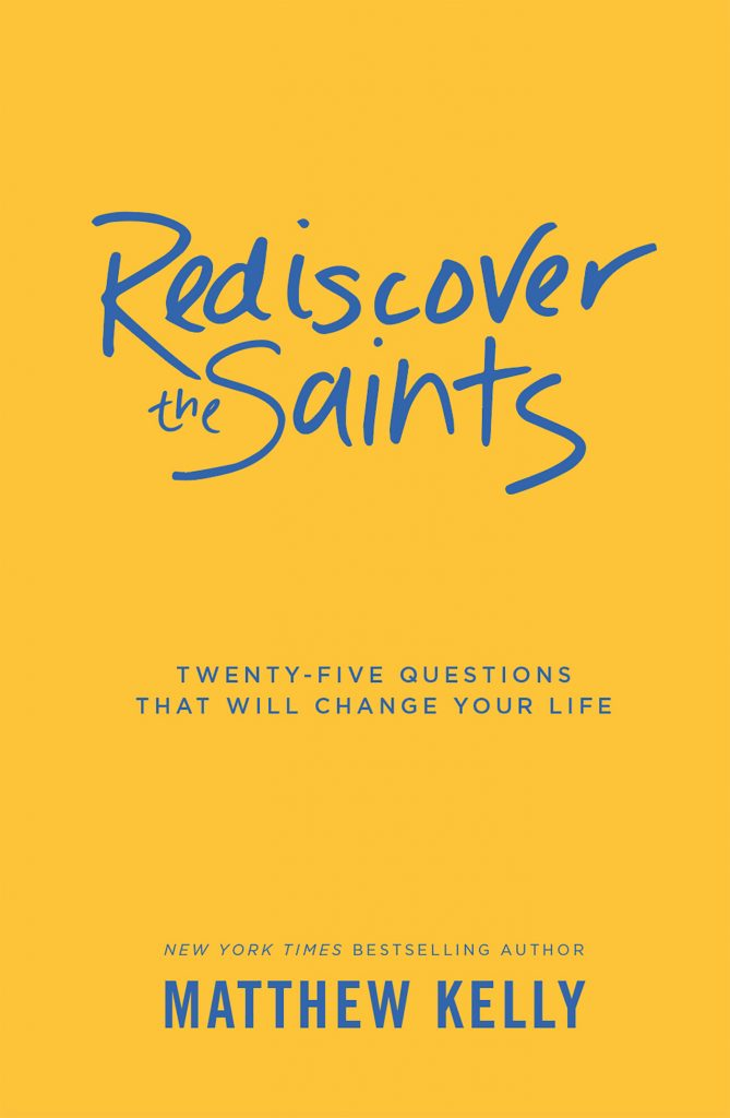 Jesus Calling podcast recently welcomed author Matthew Kelly (Dynamic Catholic), who shared information about his latest book, Rediscover the Saints book