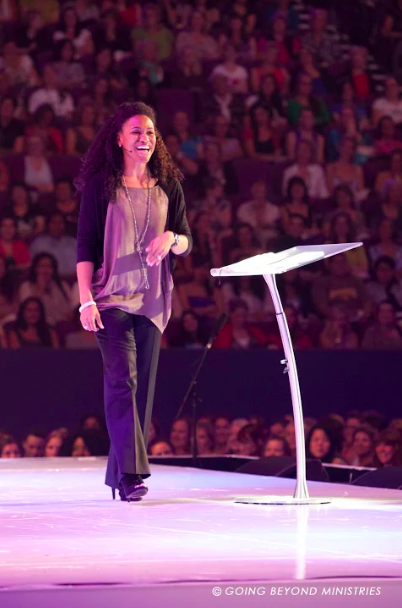 Jesus Calling podcast welcome Priscilla Shirer, star of the new Kendrick movie: OVERCOMER