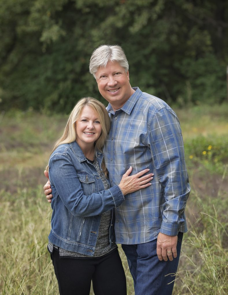 Jesus Calling podcast welcomes Pastor Robert Morris (pictured here with his wife )