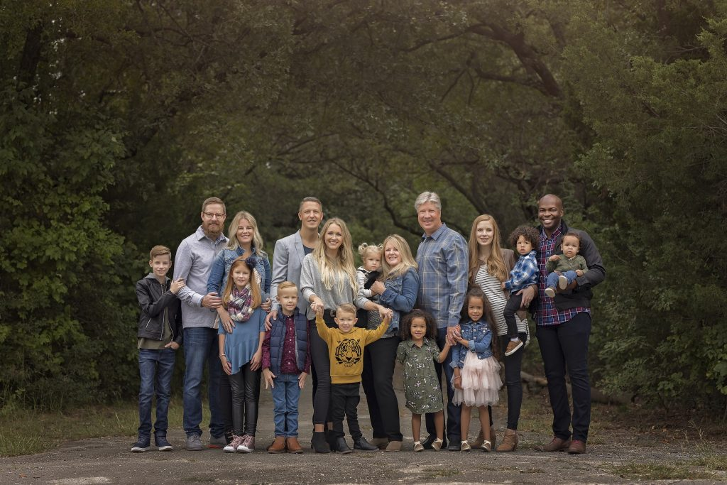 Jesus Calling podcast welcomes Pastor Robert Morris (pictured here with his wife and family)