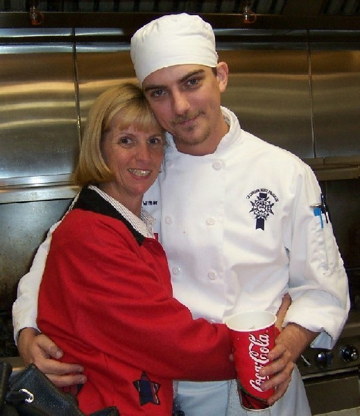 Chef Jeremy Miller (little Ben Seaver of Growing Pains fame) with his mom - Jesus Calling podcast #171