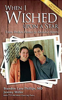 When I Wished Upon a Star book by Jesus Calling podcast guests: Jeremy Miller (little Ben Seaver of Growing Pains fame) & Doctor Brandon Lane Phillips, MD