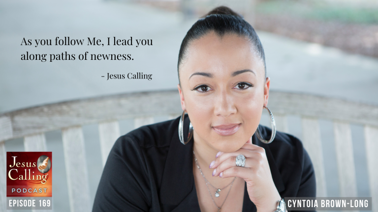 Jesus Calling podcast #169 featuring Cyntoia Brown-Long